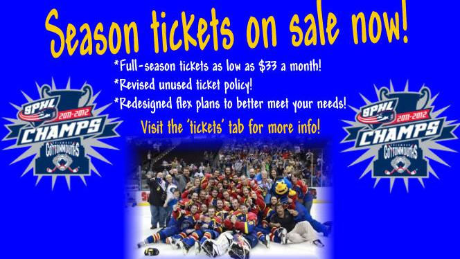 Season Tickets on Sale Now!